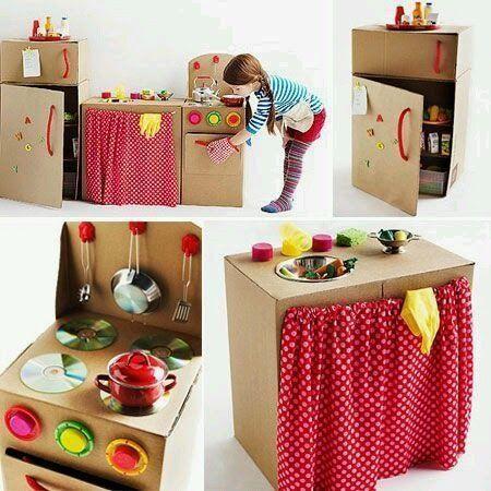 Hacer una cocinita de juguete