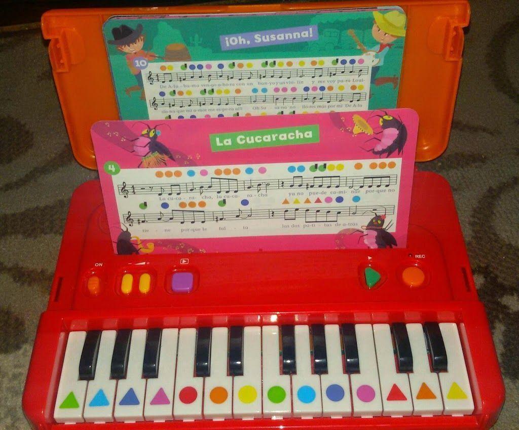 #mamáterecomienda Piano de aprendizaje con colores de Diset