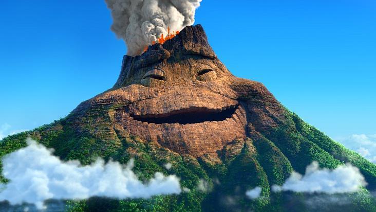 Canción el corto de Pixar «LAVA»