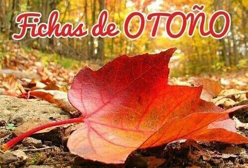 Fichas y actividades imprimibles del otoño para niños: colorear, decorar, líneas…