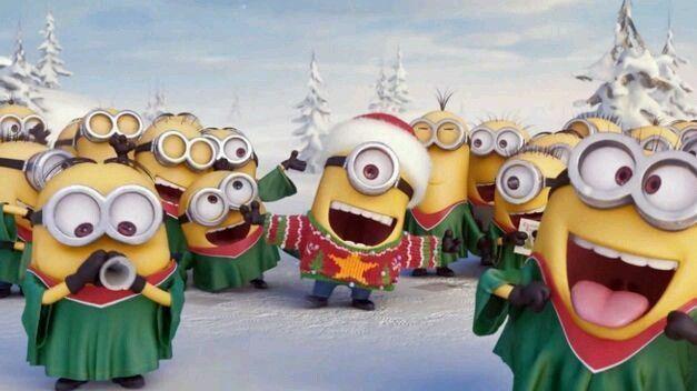 Villancico de los Minions… buenísimo!!!