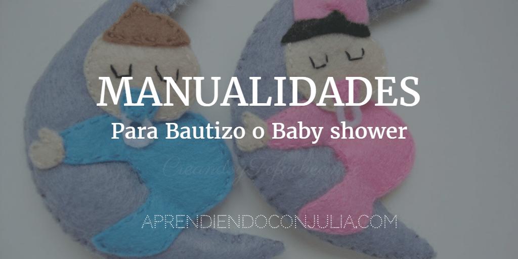 Manualidades Para Bautizos Y Baby Shower O Fiesta Del Bebé.