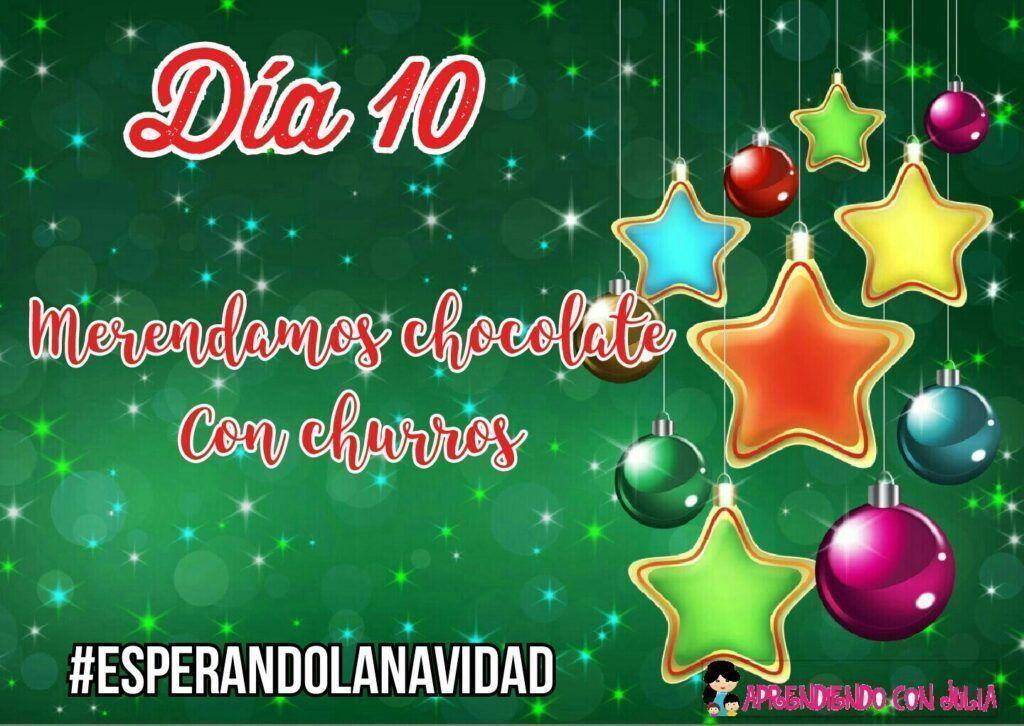 Día 10. Calendario de Adviento con actividades en familia