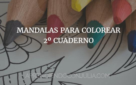 Cuaderno imprimible de mandalas para colorear