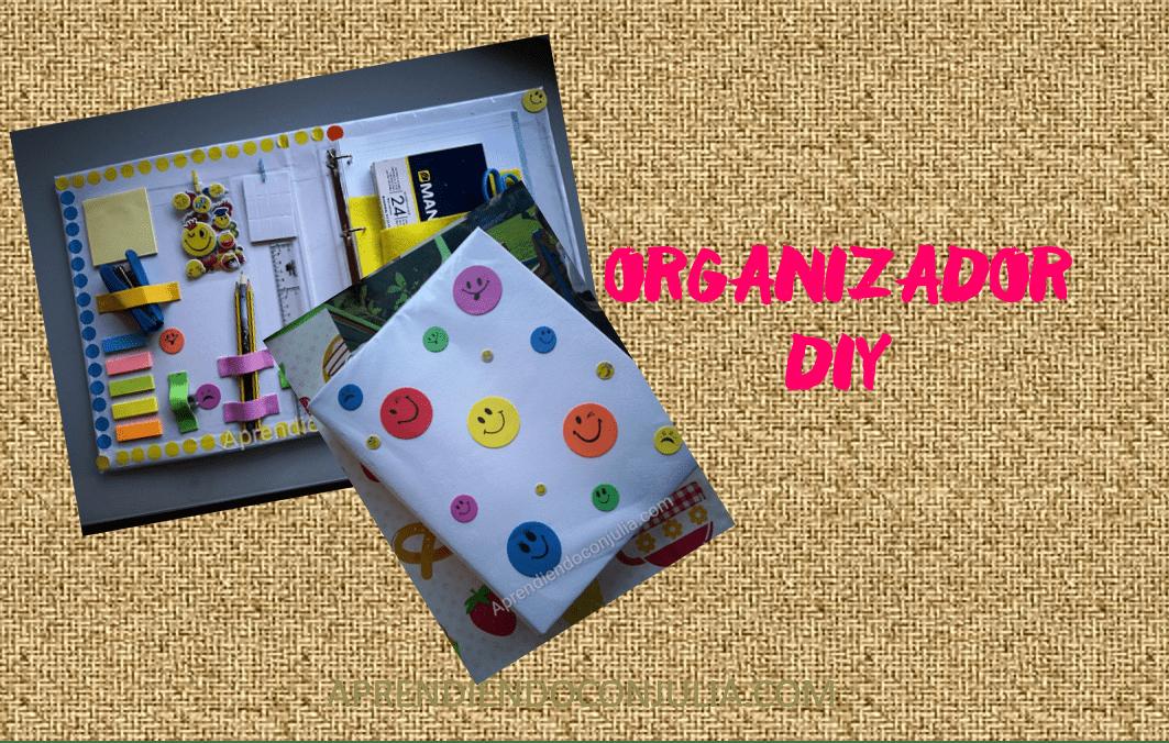 Archivador – organizador DIY. Manualidad para niños.