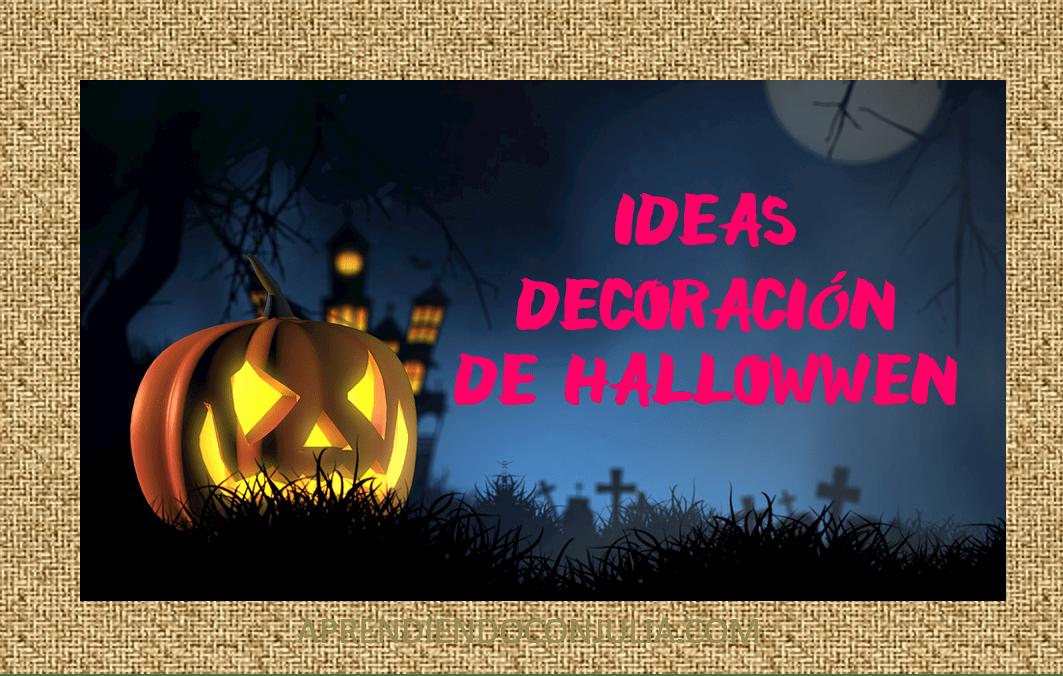 Ideas baratas para decorar en Halloween tu casa o clase