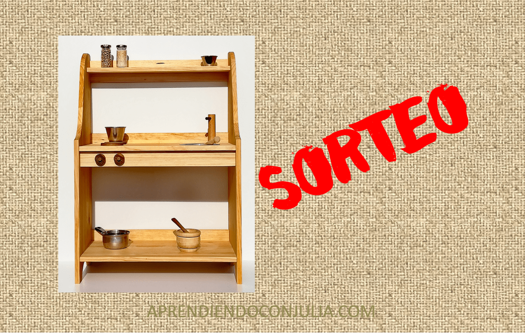 SORTEO!! Cocina de madera para niños artesana y con amor