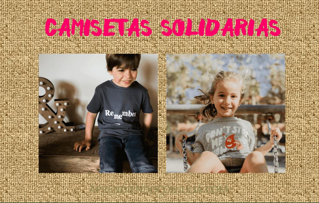 Camisetas con Mensaje, Solidarias y Sostenibles SORTEO!!!