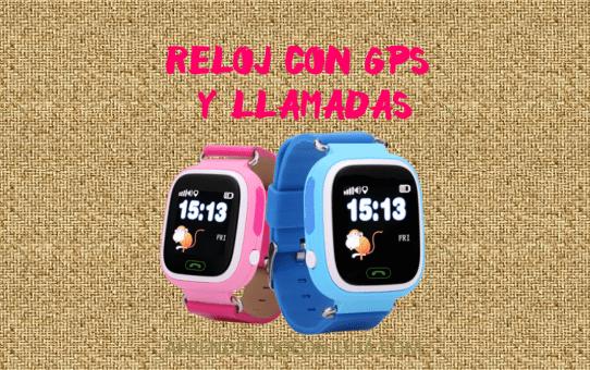 Reloj con GPS para niños GW100. Localizados y seguros.