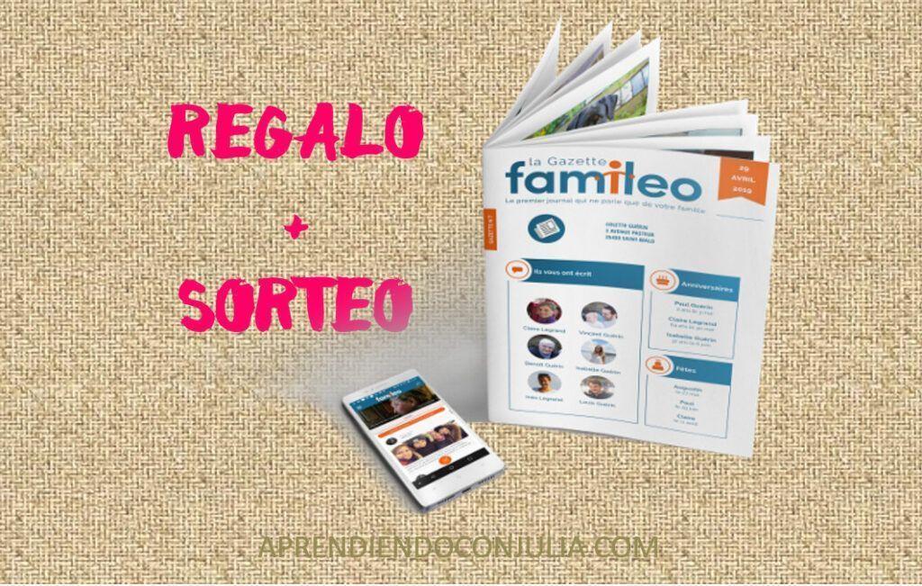 FAMILEO REGALO Y SORTEO REVISTA PARA PERSONAS MAYORES