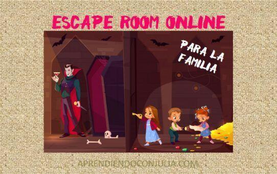 Escape room online en familia. Nuestros favoritos