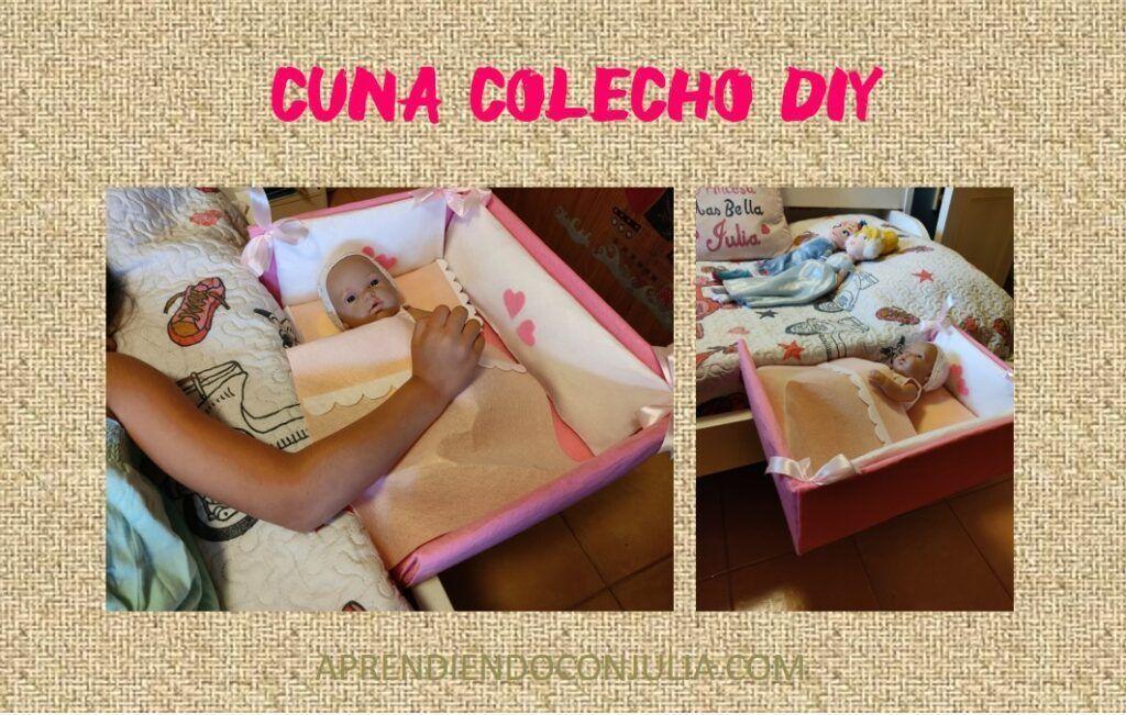 Cuna de colecho para muñecas DIY
