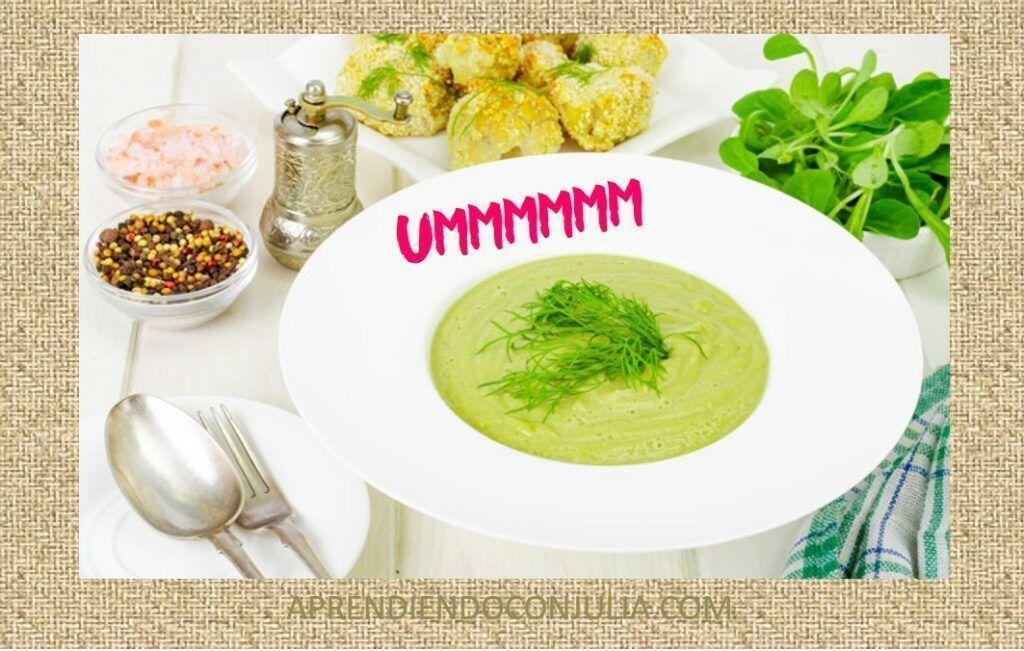 Cremas de verdura fáciles con o sin Thermomix