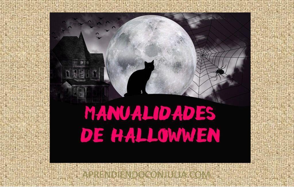8 manualidades fáciles de Halloween para niños