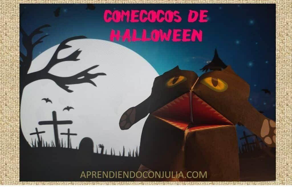 Comecocos de Halloween – Cootie Catchers
