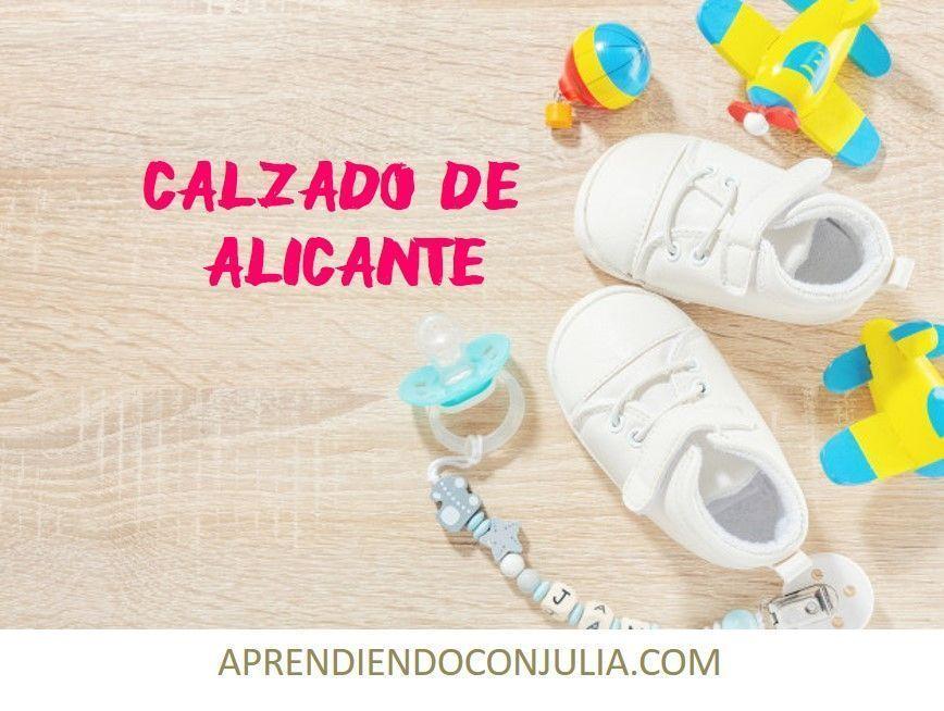 ZAPATOS DE ALICANTE PARA NIÑOS Y BEBES