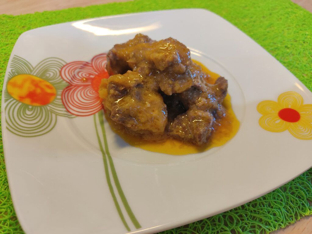 receta de carrillada en salsa olla rapida