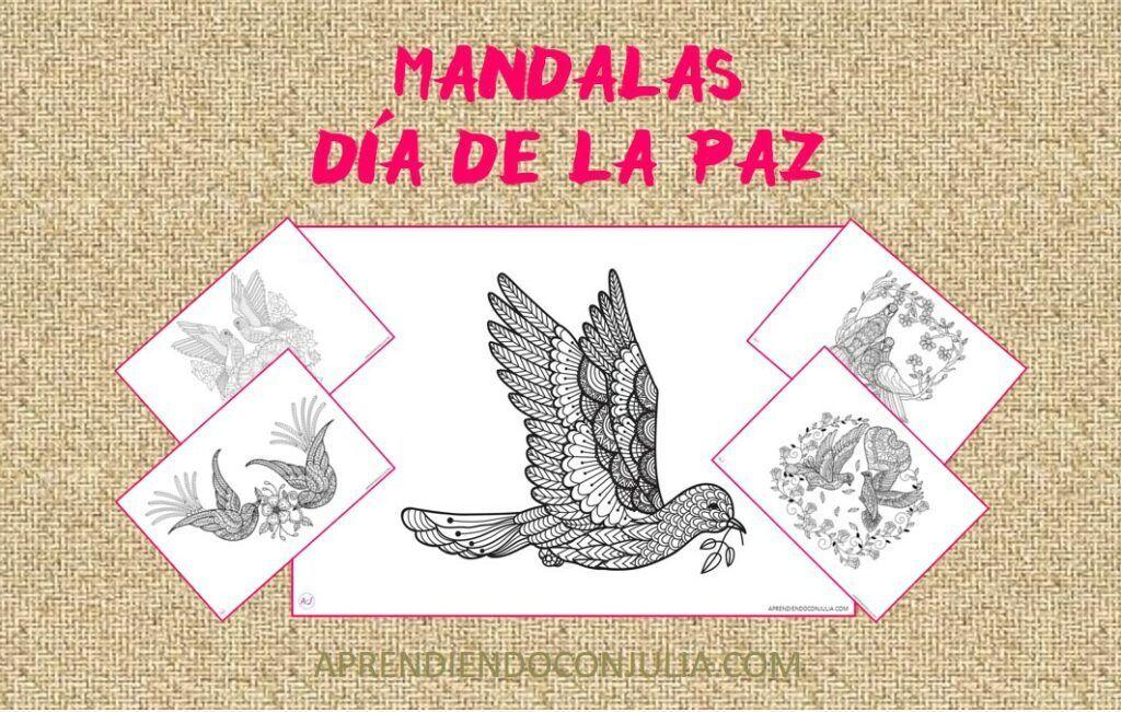 MANDALAS DEL DIA DE LA PAZ PARA IMPRIMIR