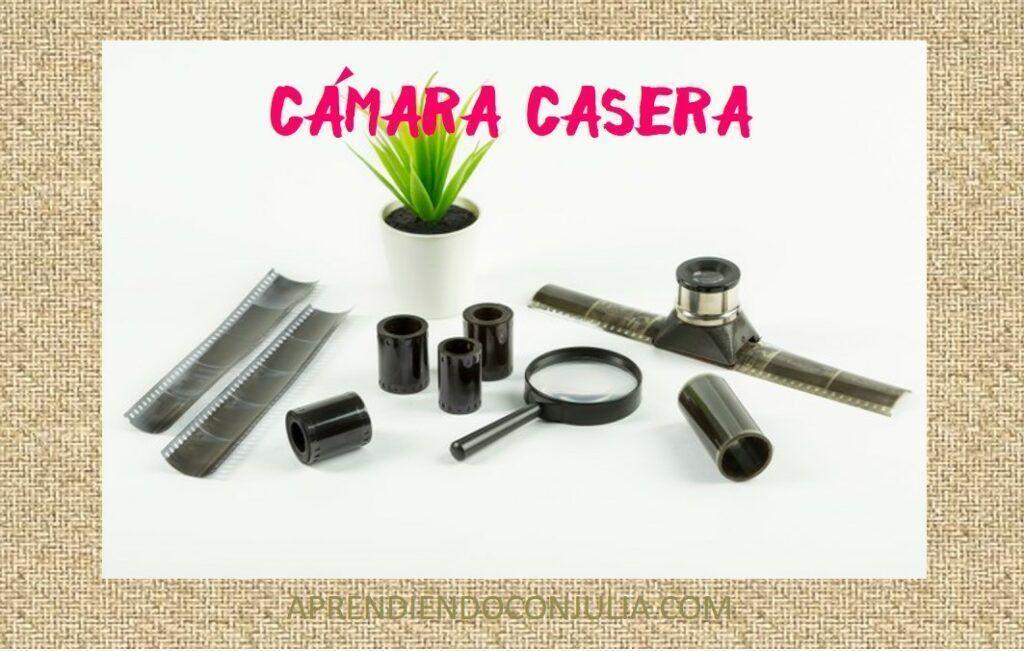 cámara de fotos casera
